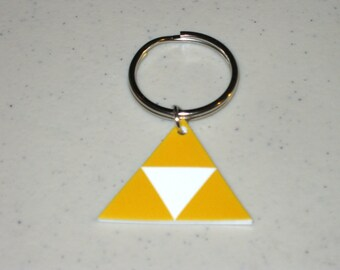 Triforce - Legend of Zelda - Keychain, Charm, Necklace, Earrings, Stickers, Tattoos, Embroidered Patch, Magnets