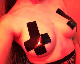 Inverted Cross Pasties
