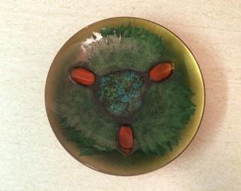 Edward Star Modern Copper Enamel Plate