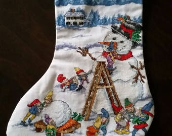 Winter Magic Christmas Stocking