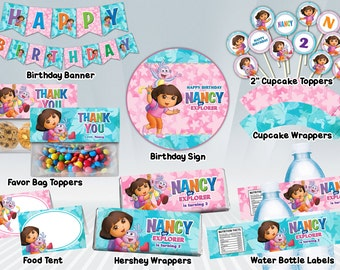Dora Printable Party Package