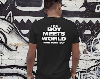Drake Face T-Shirt - Boy Meets World Tour