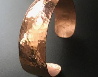 Amore - Copper Cuff bracelet - Love is in the Air!