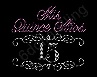 Mis Quince Etsy
