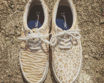 animal mix/ladies slipon