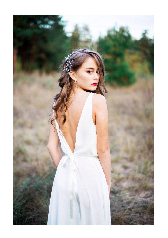 Brautjungfer Kleid Lily einzigartige Kleid. Brautkleid.