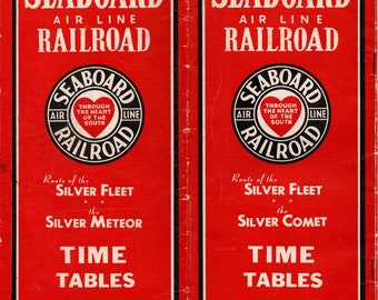 1947 Seaboard Air Line Public Timetable