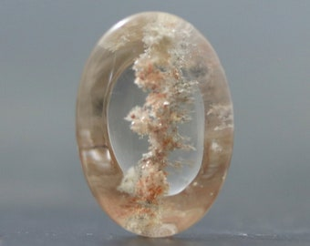 Quartz Lodolite Clear Natural Gemstone (V4296)