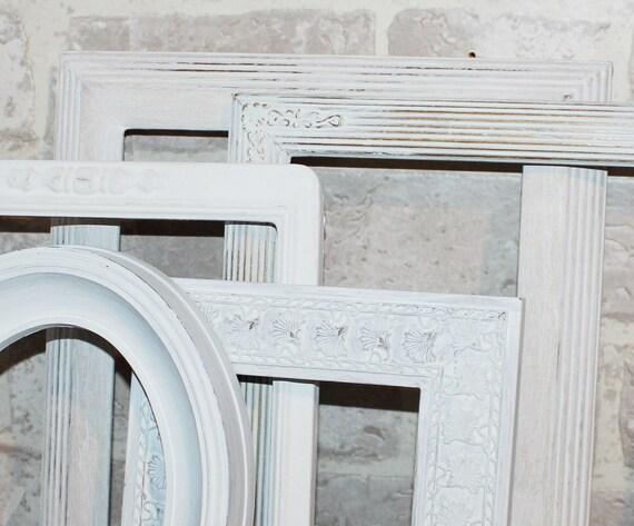 Marcos de madera cutre, 5 abrir marco sistema de pared de galería ...