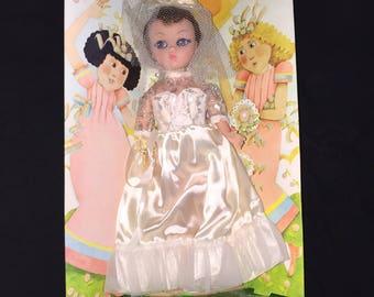 Vintage Dandee Bride Doll