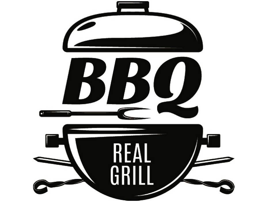 bbq logo 7 grill grilling meat clever steak barbecue butcher. Black Bedroom Furniture Sets. Home Design Ideas