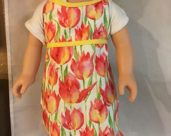 """Apron for 18"""" Doll"""