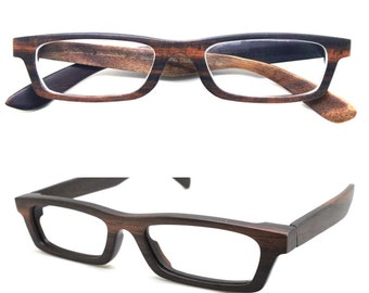 Love-wood Handmade Ebony Takemoto prescription customize  wood wooden glasses frames Eyeglasses