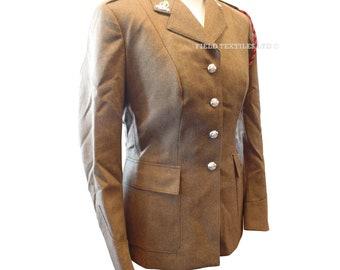 Uniform Woman's No.2 Adjutant Generals Dress Army Tunic - Size 162/92/68 - Vintage - E262
