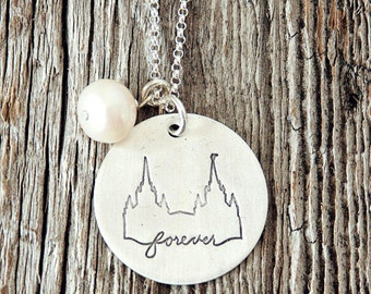 San Diego California Temple, Temple Forever Necklace, Temple Necklace, Temple, LDS Jewelry, Mormon Charm, Temple Charms, LDS Wedding