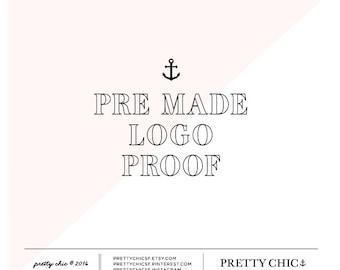 Pre habe Logo Proof - Logo Design - individuelles Logo - Branding - Logo Beweis