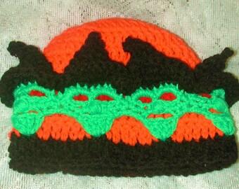 PDF  Creepy Witch Hat   Crochet Pattern