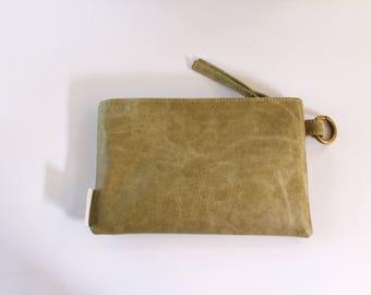 Vegan Pouch, Small Clutch, Vegan Zipper Pouch, Vegan Gifts For Her, Stylish Card Holder, Vegan Makeup Purse, Vegan Wallet