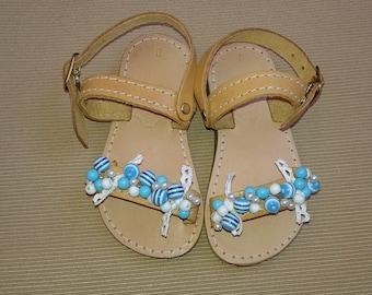 Kids Sandals, Greek Sandals, Leather Sandals