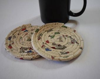 2 Rope coasters
