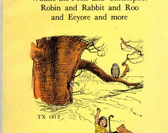 Stories and Poems About Pooh and His Friends by A.A. Milne, Illustrated by Ernest H. Shepard
