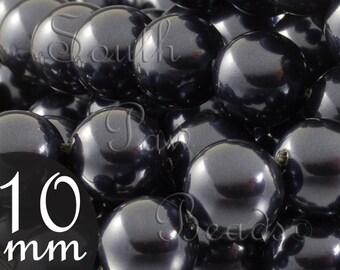 10mm beads Night blue Swarovski crystal pearl beads style 5810 (10)