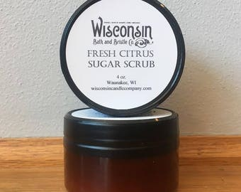 Fresh Citrus Sugar Scrub