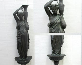 Vintage Grecian Woman Figurine Art Deco