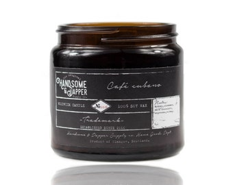 Cafe Cubano Wood Wick Soy Candle