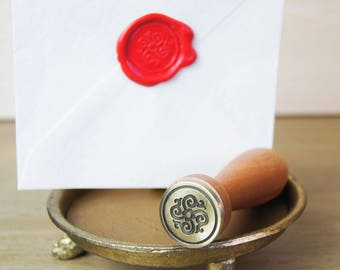 Renaissance Flower Wax Seal Stamp