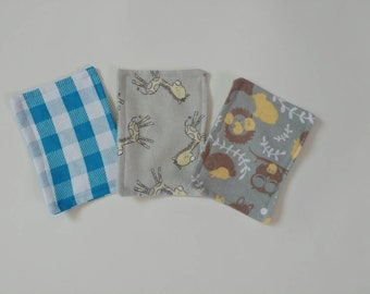 3pk flannel wipes, cloth wipes, reusable wipes, baby wipes, family cloth, flannel, high quality, ready to ship, baby gift, free shipping