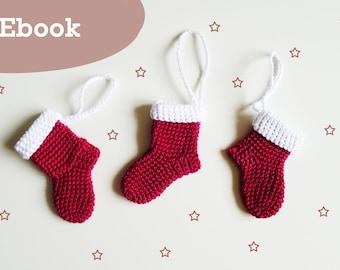 Crochet Guide Christmas boots, ebook crochet Guide Christmas