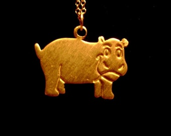 The Chubby Hippo Necklace
