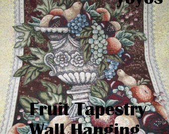 WALL HANGING, TAPESTRY, Home Décor,  Holiday Decor, Thanksgiving, Christmas, Throw , Table Cover