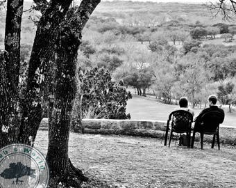 Landscape Photography | Hill Country Relaxation | Digital Download