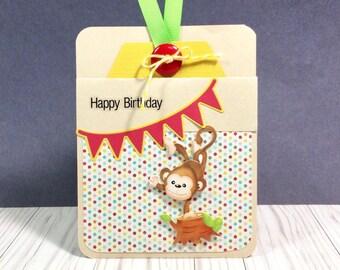 Birthday Gift Card Holder, Gift Card Holder for Birthday, Birthday Card, Cute Gift Card Holder, Unique Gift Card Holder,Unique Birthday Card