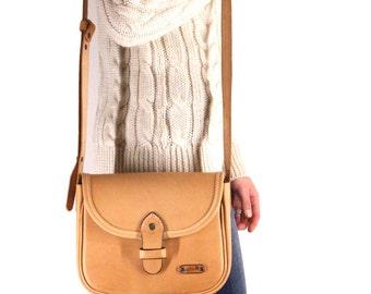 Cartera Vintage cuero bolso cuero cuero bolsa
