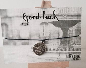 Good Luck Gift Good Luck Card Lucky Penny