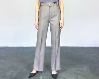1970s Taupe High Waist Pants (M)