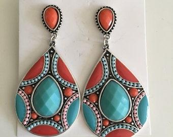 beautiful boho earring, bohemian jewelry