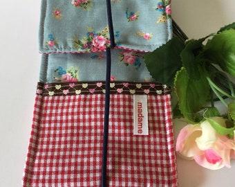Handytasche,Handyhülle aus Stoff,i-Phone Tasche, für i-Phone Rosen