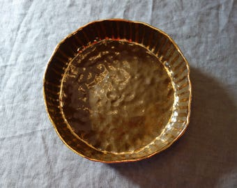 Low Salad/Pasta Bowl with Gold 4