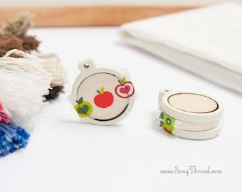 Cream White Mini Embroidery Hoop 1 Inch