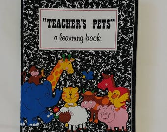 Teacher's Pets - Soft Cloth Books for Baby, Children, Boys, Girls, Child, Toddler, Kids