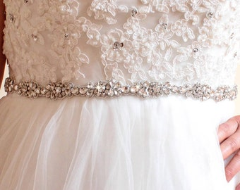 Crystal Bridal Belt Rhinestone Bridesmaid Belt Wedding Sash Bridal Sash Rhinestone Belt Dress Sash Wedding Dress Belt Sash Belt
