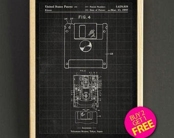 Apple computer housing patent wall art first apple computer floppy disk patent art print computer floppy disk blueprint poster wall decor house wear gift linen print buy 2 get free 331s2g malvernweather Images
