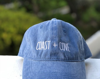Washed Ashore Dad Cap - Pacific Blue