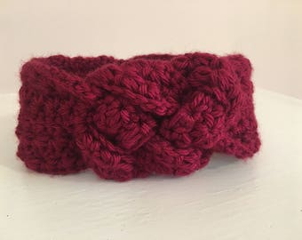 Baby (6-12 month) Ear Warmer with Sailor's Knot Detail