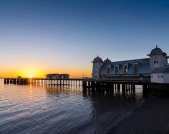 Penarth Pier sunrise
