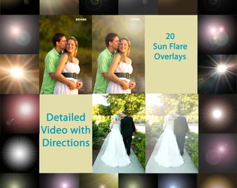 Photography Lens Flare Overlays